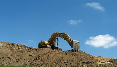 Valley Builders LLC Excavator