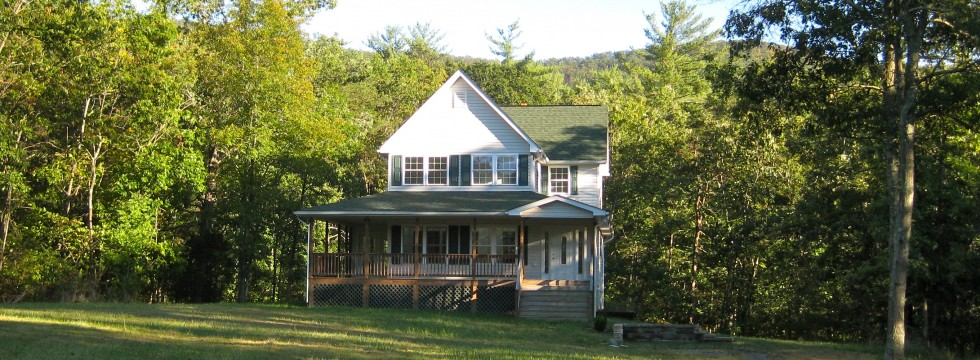 Custom Home Built in Shenandoah Valley
