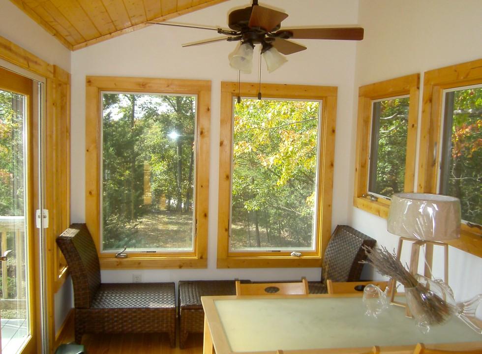Custom Sunroom Addition Built in Shenandoah Valley by Valley Builders LLC.