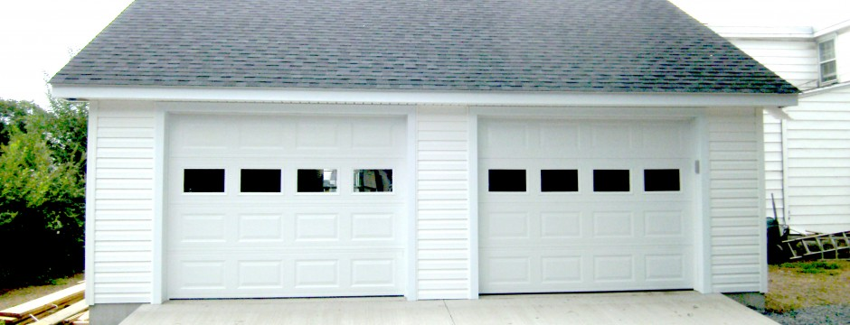 Custom Garage Built in Shenandoah Valley by Valley Builders LLC.