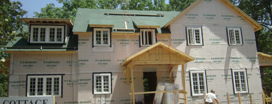 Custom Frame/Carpentry Job in Shenandoah Valley by Valley Builders LLC.