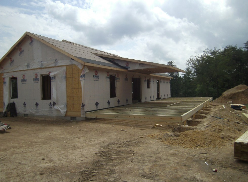 Custom Home Built in Shenandoah Valley by Valley Builders LLC.