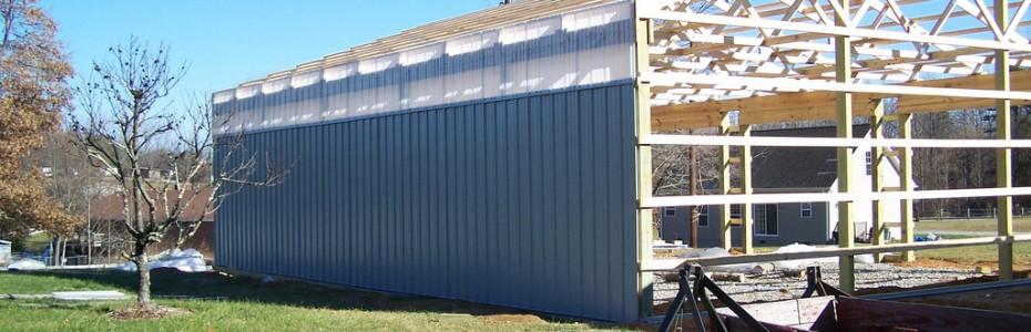Pole barn by Valley Builders LLC
