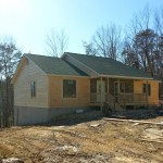 Log Siding Project in Fort Valley Virginia