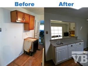 Mount Jackson Virginia. Kitchen Remodel Before and After Pictures.