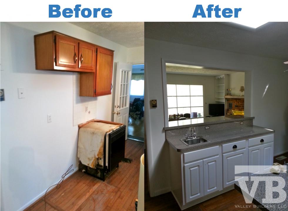 Kitchen renovation in Mt. Jackson VA