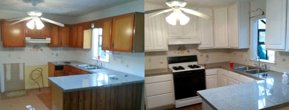 Kitchen renovation in Mt. Jackson VA