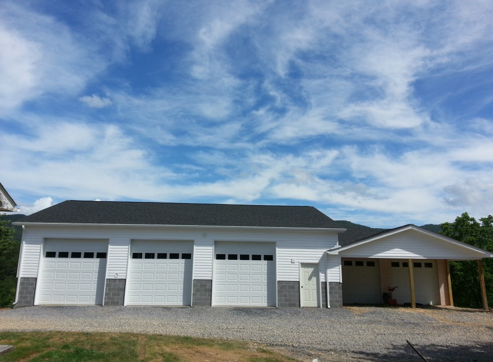 Garage and Carport