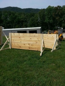 GoRuck Obstacle course built by Valley Builders LLC