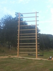GoRuck Obstacle built by Valley Builders in Harrisonburg VA