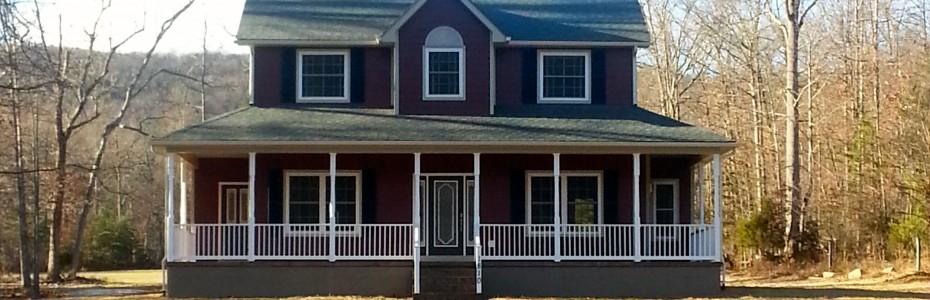 Valley Builders Custom Built Home Located in Fort Valley Virginia