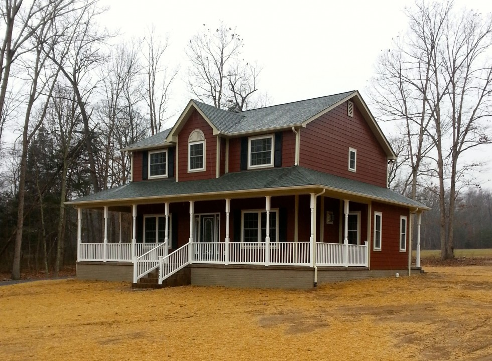 Valley Builders Custom Built Home Located in Fort Valley Virginia
