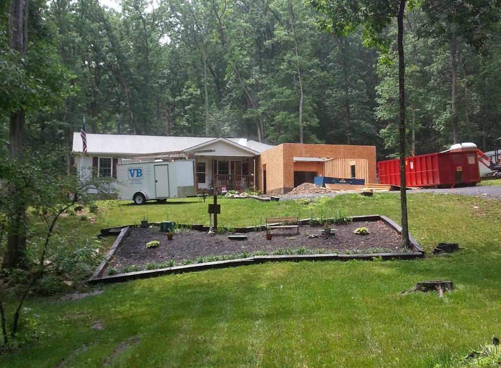 Home Addition in Strasburg VA by Valley Builders LLC