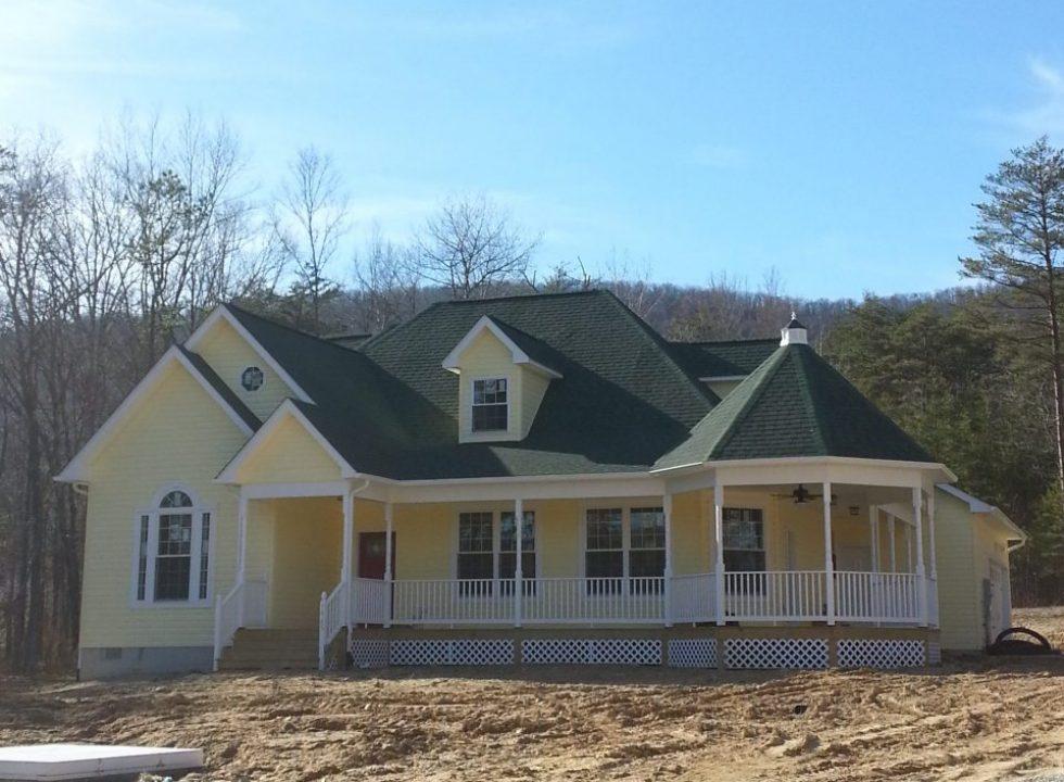Custom residential home built by Valley Builders LLC