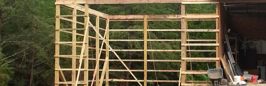Pole Barn 30x24, 18' Ceilings