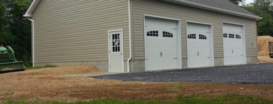 Valley Builders Custom Garage Winchester Virginia
