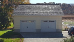 Two car custom garage Front Royal Virginia