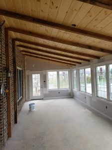 Custom Sunroom in Woodstock Virginia by Valley Builders