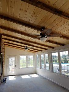 Custom Sunroom in Woodstock Virginia by Valley Builders