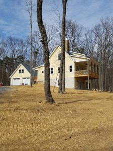 Custom Home on Swover Creek Road by Valley Builders