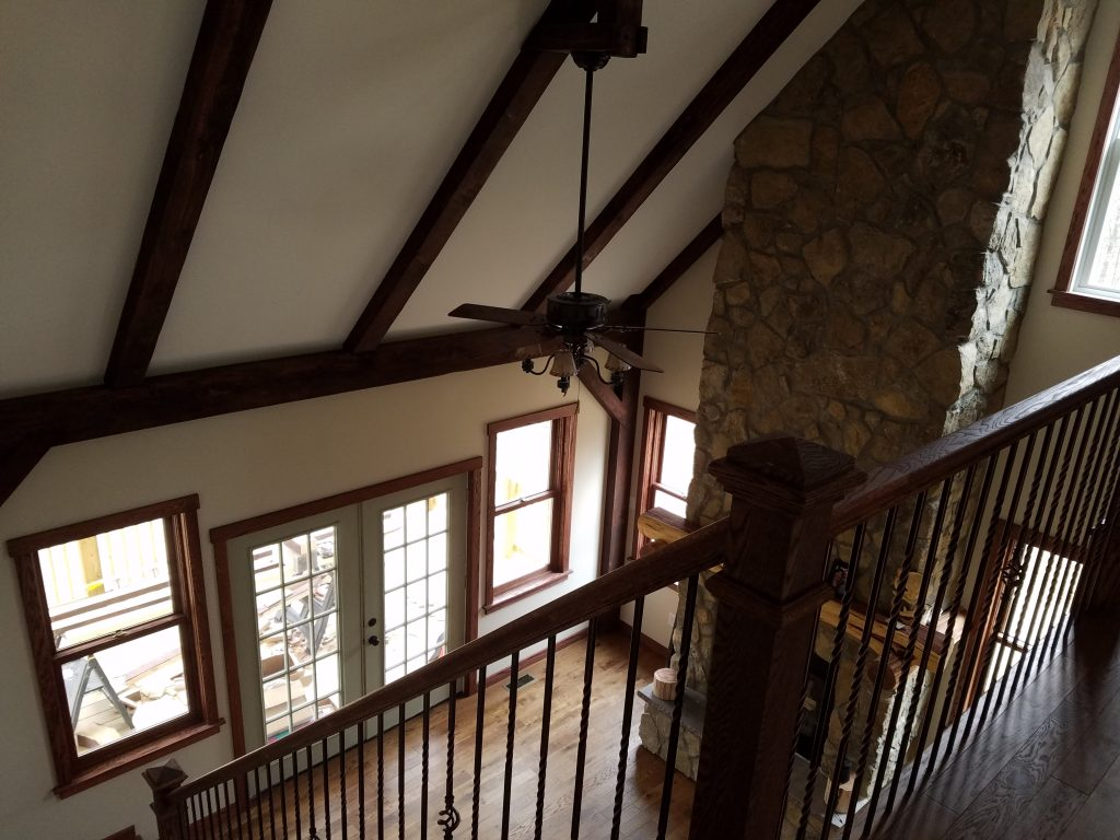 Battlefield Road Strasburg Custom Wrought Iron Railing and Banister