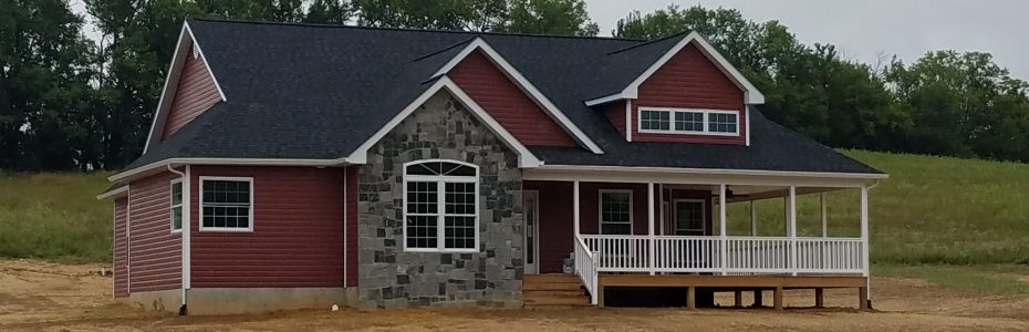 Custom Home on Sandy Hook Road in Strasburg Virginia