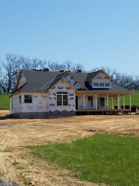Unfinished Custom Home on Sandy Hook Road in Strasburg Virginia